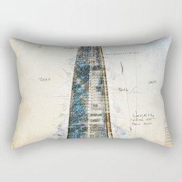 The Shard, London England Rectangular Pillow