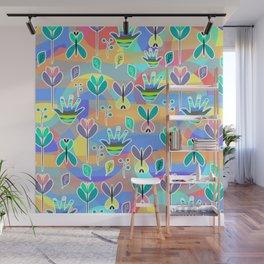 Happy pattern Wall Mural