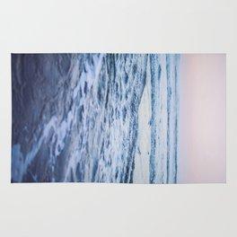 Pacific Ocean Waves Rug
