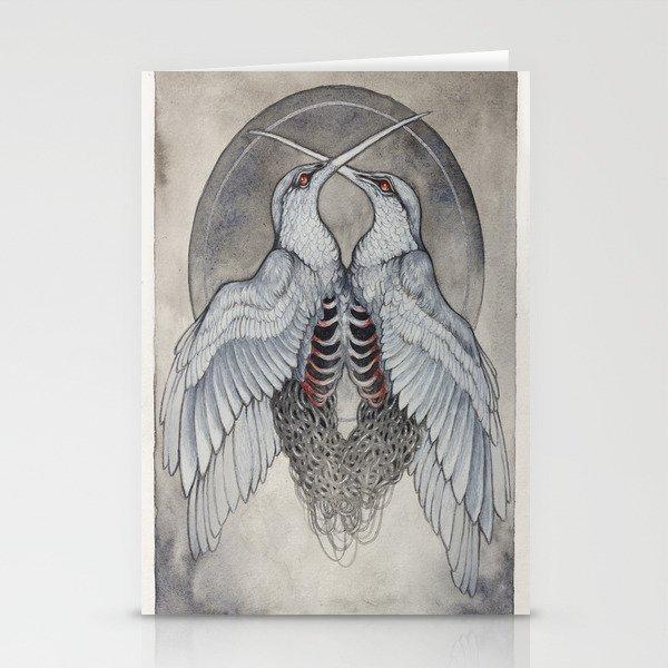 Coalesce art print  Stationery Cards