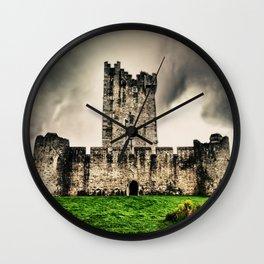 Ross Castle, Killarney National Park, Ireland. Wall Clock