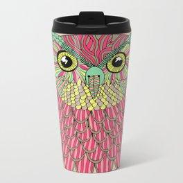 Owl Metal Travel Mug