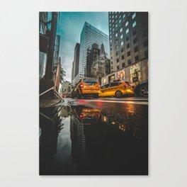 Manhattan Taxi Canvas Print