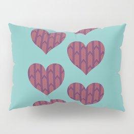 Six hearts 01 Pillow Sham
