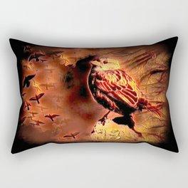 Sparrow Hell Rectangular Pillow