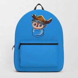Viking Pepe! Backpack