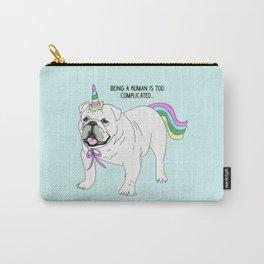 Uniforn bulldog Carry-All Pouch