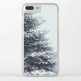 Spruce Clear iPhone Case