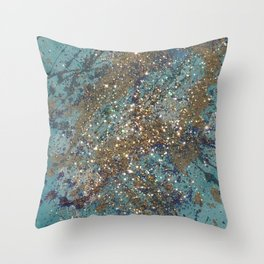 Glittering Throw Pillow