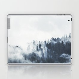 Foggy Forest Calm Landscape Laptop & iPad Skin
