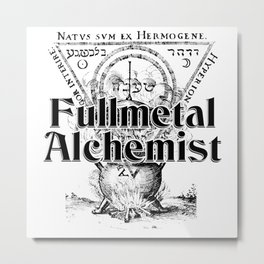 Fullmetal Alchemist Metal Print