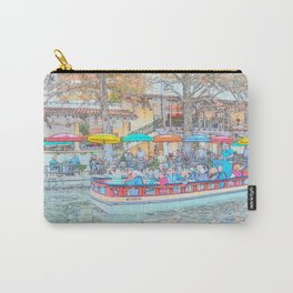 Ride Down The River - San Antonio, Texas Carry-All Pouch