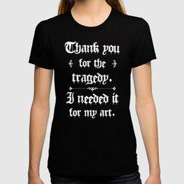 Thank You For The Tragedy | Kurt Cobain T-shirt