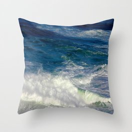 Crashing Down and Up Throw Pillow