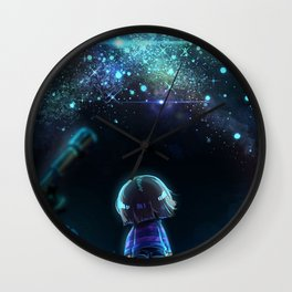 Starry (Night) Undertale Wall Clock