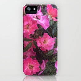 flower power can defeat a glower! iPhone Case