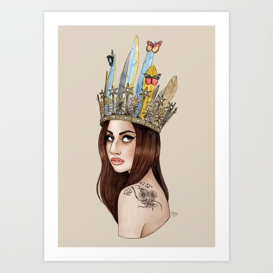ARTPOP Princess II Art Print