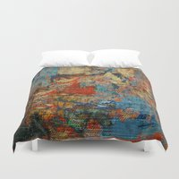 calendars Duvet Covers featuring Mannaz - Runes Series by Fernando Vieira