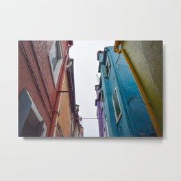 Urban Color Metal Print