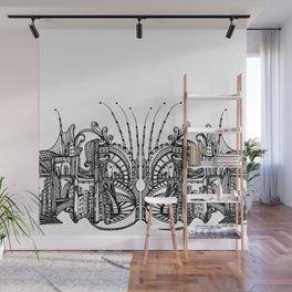 Enchanted City (Genova, Italy) - Duvet Cover Wall Mural