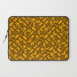 Control Your Game - Tradewinds Gold Laptop Sleeve