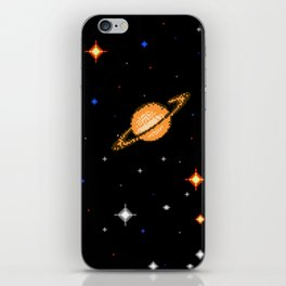 Deep  Dark  Space iPhone Skin
