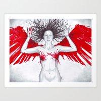 Cross My Heart... Art Print