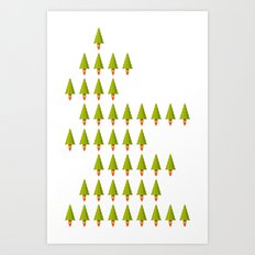 X-Mass Rockerts Art Print