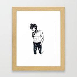 Gray Fullbuster Framed Art Print