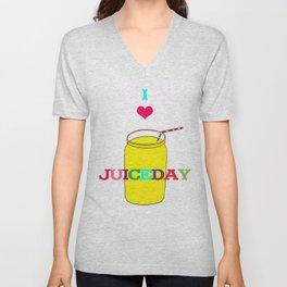 I love Juiceday! Unisex V-Neck