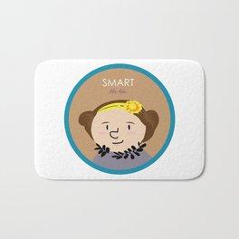 Smart like Ada Lovelace Bath Mat