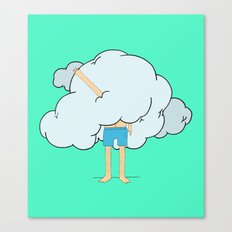 Stuck in a cloud Canvas Print