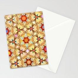 kaleidoscope - releitura de um jardim Stationery Cards