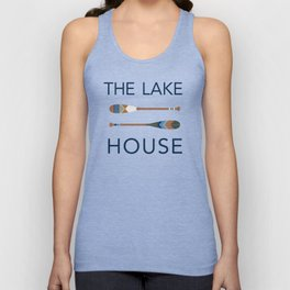 The Lake House Unisex Tank Top