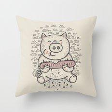 Bacon's Sandwich Throw Pillow