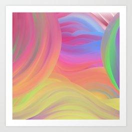 Sunrise Melody Art Print