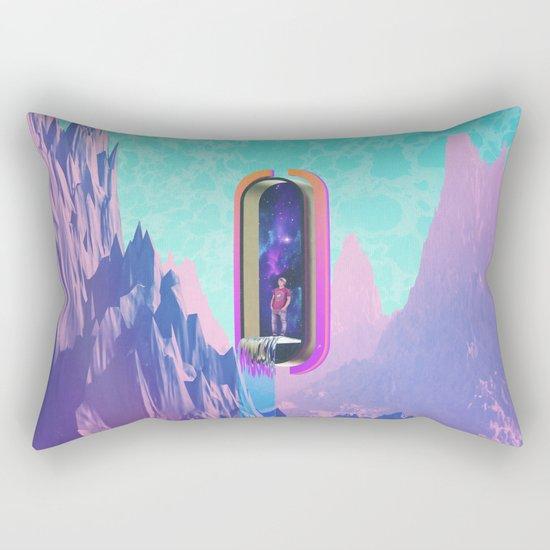 Cosmic Drain Rectangular Pillow