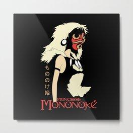 Princess of Mononoke Hime Anime Metal Print