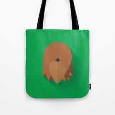 Chewbacca 2015 Flat Design Episode VII Tote Bag