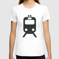train T-shirts featuring Train by Alejandro Díaz