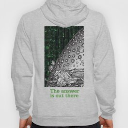 Matrix Flammarion THE ANSWER IS OUT THERE Hoody