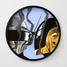 Daft Punk Deux Wall Clock