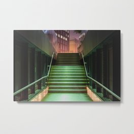 The High Line at night Metal Print