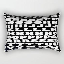 Alphabet Rectangular Pillow