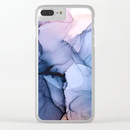 Captivating 1 - Alcohol Ink Painting Clear iPhone Case