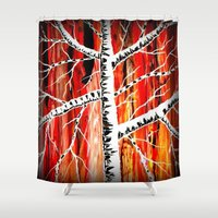 charlie Shower Curtains featuring Charlie by EBC art