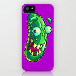 Pickled Pickle iPhone Case