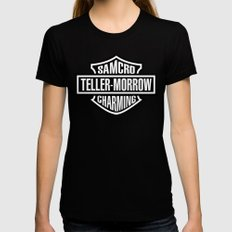 SAMCRO Teller-Morrow of Charming (Sons of Anarchy / Harley-Davidson) Womens Fitted Tee Black SMALL