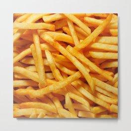 French Fries Metal Print