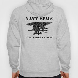 NAVY SEALS It Pays To Be a Winner Hoody
